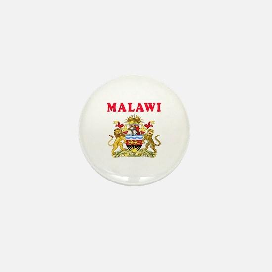 Malawi Coat Of Arms Designs Mini Button