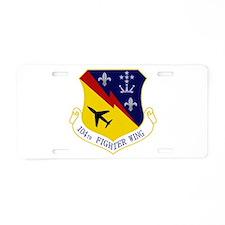 104th FW Aluminum License Plate