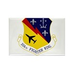 104th FW Rectangle Magnet (100 pack)