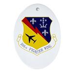 104th FW Ornament (Oval)
