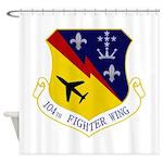 104th FW Shower Curtain