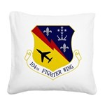 104th FW Square Canvas Pillow