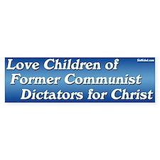 Love Children of Communist Dictators sticker