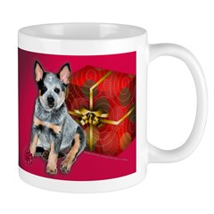 Australian Cattle Dog Christmas Puppy Mug