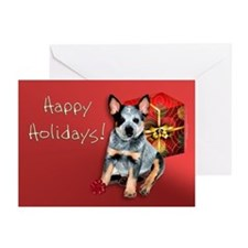 Australian Cattle Dog Christmas Cards (Pk of 10)