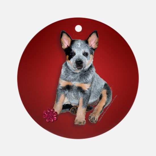 Australian Cattle Dog Puppy Christmas Ornament