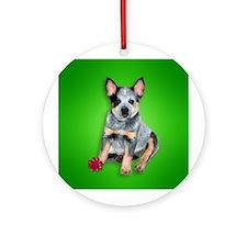 Australian Cattle Dog Puppy Christmas Ornament