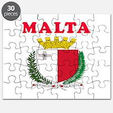 Malta Coat Of Arms Designs Puzzle