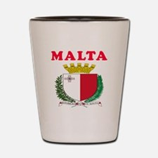 Malta Coat Of Arms Designs Shot Glass