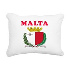 Malta Coat Of Arms Designs Rectangular Canvas Pill