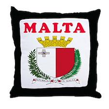 Malta Coat Of Arms Designs Throw Pillow