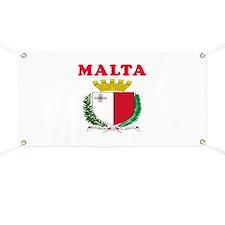 Malta Coat Of Arms Designs Banner