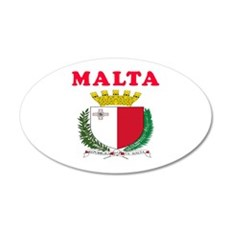 Malta Coat Of Arms Designs Wall Decal