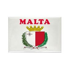 Malta Coat Of Arms Designs Rectangle Magnet (10 pa