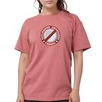 Mefloquine Logo - cafe Womens Comfort Colors Shirt