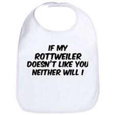 If my Rottweiler Bib