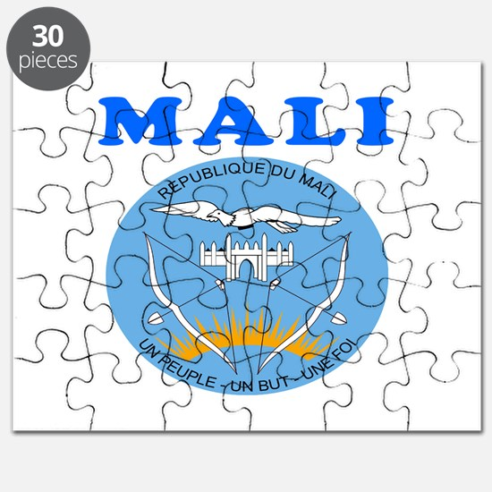 Mali Coat Of Arms Designs Puzzle