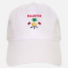 Maldives Coat Of Arms Designs Baseball Baseball Cap