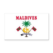 Maldives Coat Of Arms Designs Rectangle Car Magnet