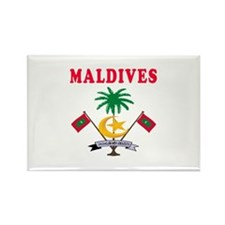 Maldives Coat Of Arms Designs Rectangle Magnet