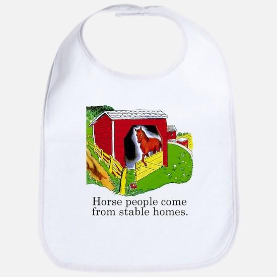 Horse People Bib