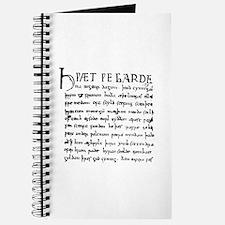 Beowulf Manuscript Journal