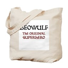 Beowulf Anglo-Saxon Manuscript Tote Bag