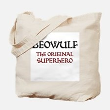 Beowulf Anglo-Saxon Manuscript Tote Bag