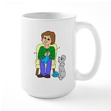 """Happy knitter"" Mug"