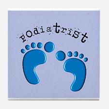 podiatrist 3 Tile Coaster