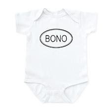 Bono Oval Design Infant Bodysuit