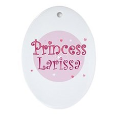 Larissa Oval Ornament