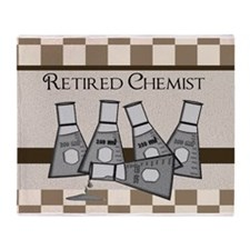 retired chemist blanket 8 Throw Blanket