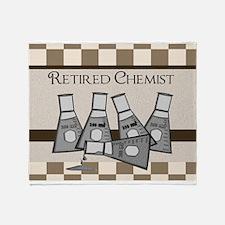 retired chemist blanket 8 Throw Blanket
