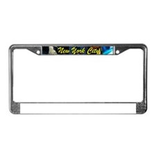 Times Square New York City License Plate Frame