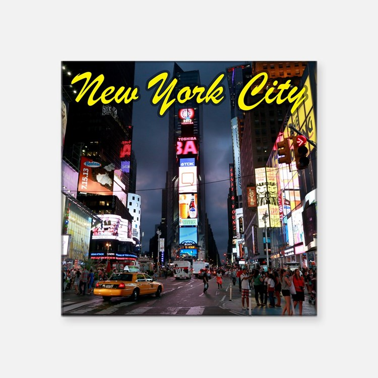 Times Square New York City Sticker