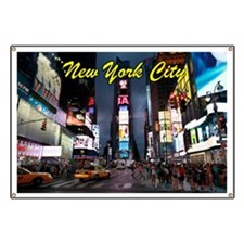 Times Square New York City Banner