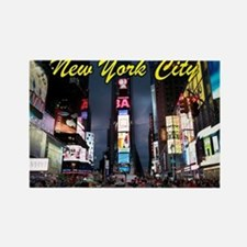 Times Square New York City Rectangle Magnet