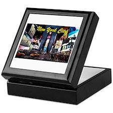 Times Square New York City Keepsake Box