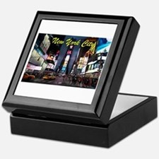 Times Square New York City Keepsake Box