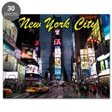 Times Square New York City Puzzle