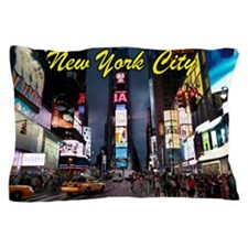 Times Square New York City Pillow Case