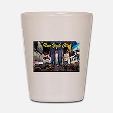 Times Square New York City Shot Glass