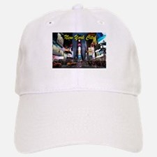 Times Square New York City Baseball Baseball Cap