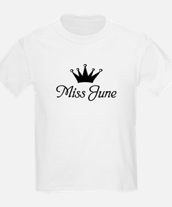 Miss June Kids T-Shirt