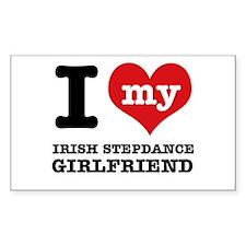 I love my Irish Step Dance girlfriend Decal