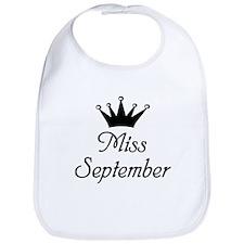 Miss September Bib