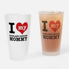 I love my Highland mommy Drinking Glass