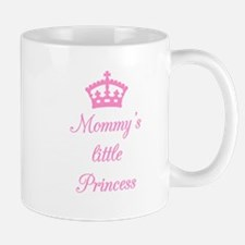 Mommy's little princess, text design with crown Mu
