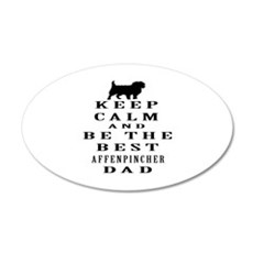 Keep Calm Affenpinsher Designs Wall Decal